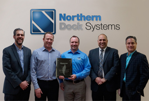 Northern Dock Systems Recognized as a Leading Contributor Towards Commercial Energy-Saving Solution Programs