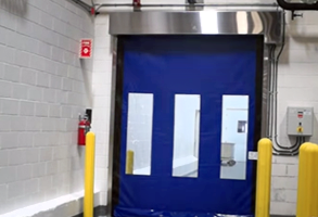 High Speed Fabric Doors Have Their Advantages