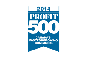 Northern Dock Systems ranks on the 2014 PROFIT 500 list of Canada's Fastest-Growing Companies