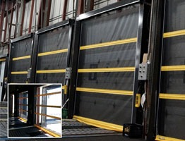 Loading Dock Bug Doors