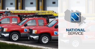 National services and product installations across Canada