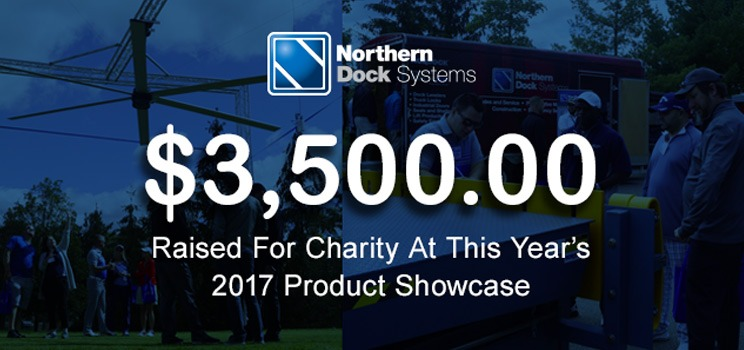 $3,500 raised for charity at our 2017 Product Showcase