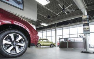 Model: AVD 370 in Car Dealership