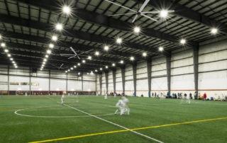Model: AVD 550 in Indoor Soccer Field