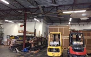 Model: AVD 550 with Forklift