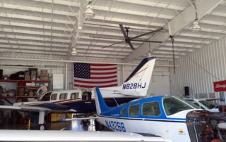 Model: AVD 550 in Air Hanger