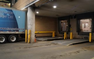 Truck-Lift installed at Sick Kids Hospital in Toronto, Ontario.