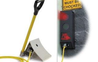 Smart Chock vehicle restraint