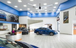 Model: AVD3 in Auto Dealership