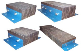 Laminate dock bumpers