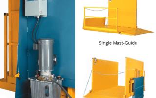 Mast-Guide platform lift