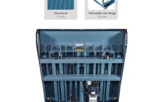 Horizontal Telescoping-Lip cold storage dock leveler