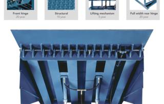 Super-Duty hydraulic dock leveler