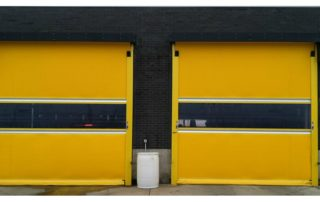 UltraFast high-speed exterior fabric roll-up door