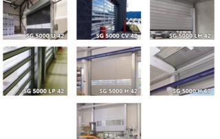 Hormann Speed-Guardian series of high-speed rigid roll-up doors