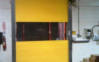 Hormann Speed-Commander 1400 SEL interior fabric door