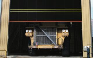 Model: UltraBig heavy industry door