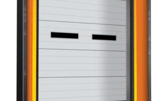 Model: STP Trailer Door Gap Compression dock seal