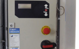 High-speed springless Safedrive operator control panel