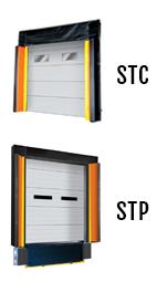 Model: STC and STP Trailer Door Gap Compression dock seal