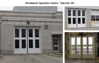 Four-Fold doors at Woodlands Operation Centre