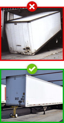 AutoStand Plus prevents trailer tipping