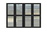 Four-Fold doors and security gates