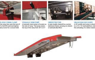 Model: Mobile yard ramp