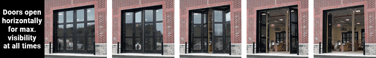 Four-Fold door