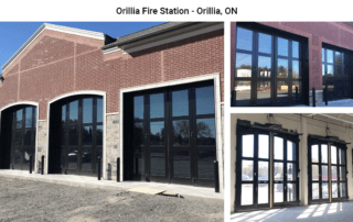 Four-Fold doors at Orillia Fire Station