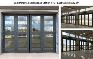 Four-Fold doors at York Paramedic Response Station #13