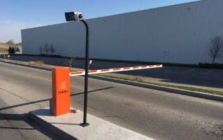 FAAC swing arm barrier gate