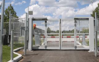 Four-Fold security gate