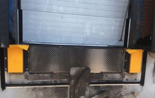 Nytrex Slider dock bumpers reduce noise on trailer impact