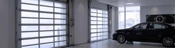 Polycarbonate door
