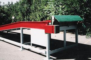 Stationary yard ramp