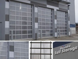 Bluebird Self Storage Overhead Doors