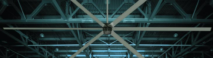 HVLS Fan on Ceiling