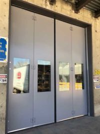 Four-Fold door at Finning