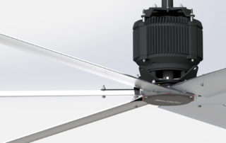 MacroAir X Series HVLS Fan Available in Canaada