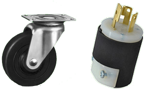 EcoAir wheels and plug