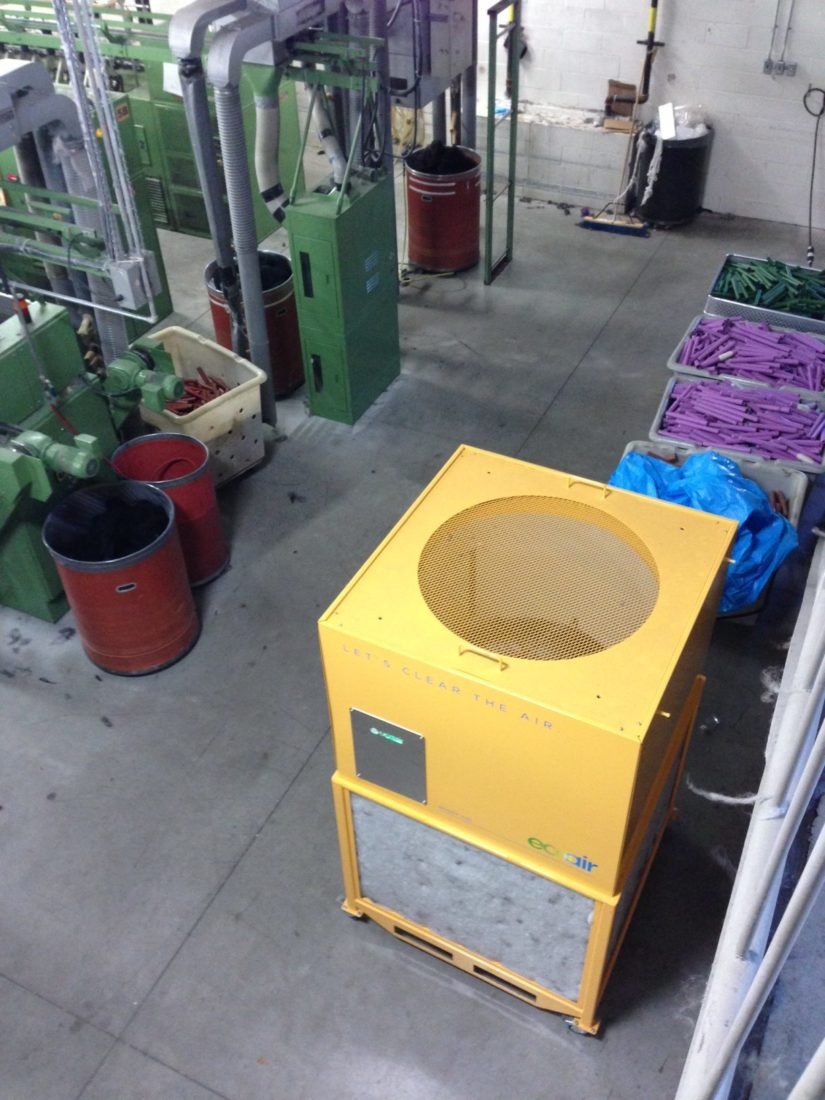 EcoAir in a Textile Factory