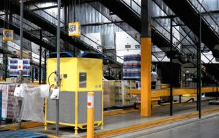 EcoAir in a Warehouse Facility with Summer Hood
