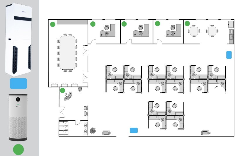 Medium Office Layout with Cascade and JADE