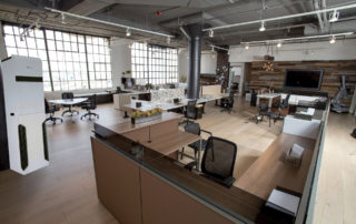 Open office with Cascade UV air purifier