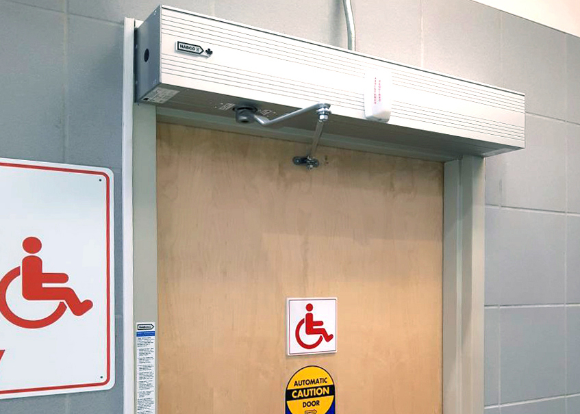 Costco Mississauga – Washroom Swing Door Operator