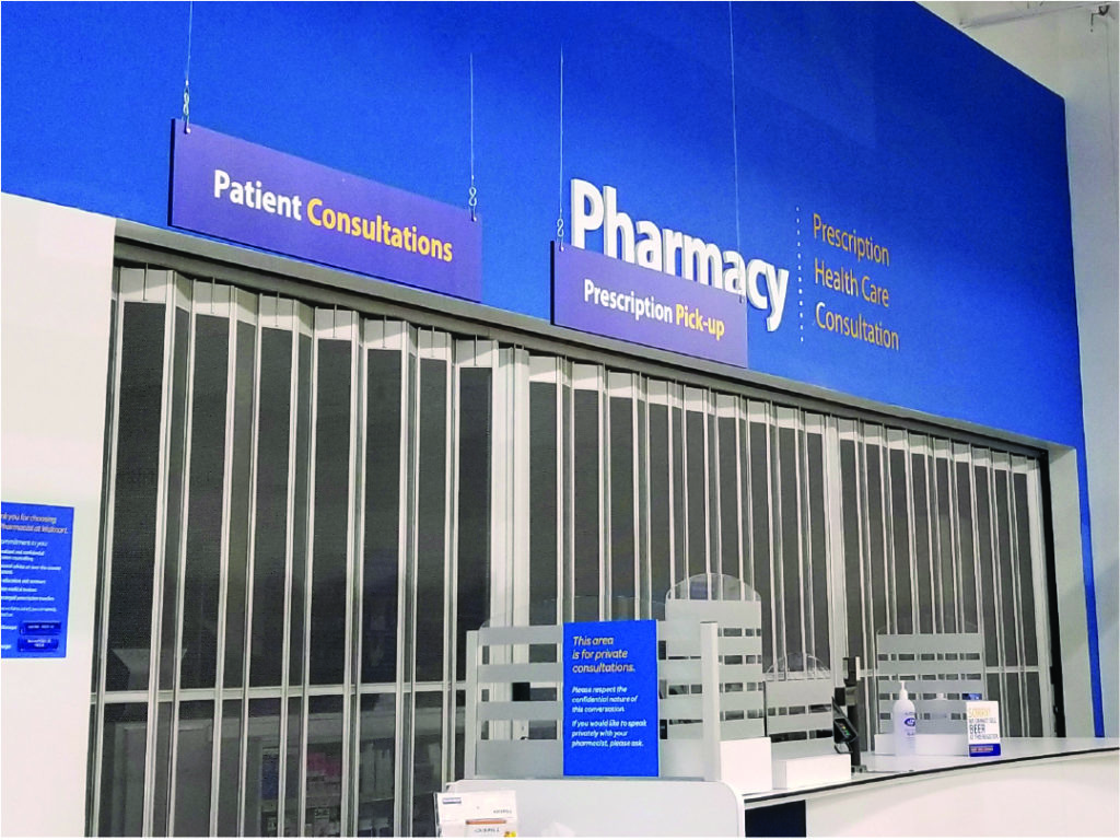 Walmart Supercentre Pharmacy – Sliding Door System