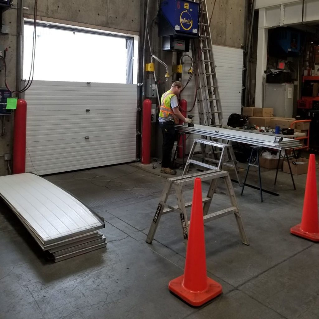 Costco Kamloops – Sectional Overhead Door