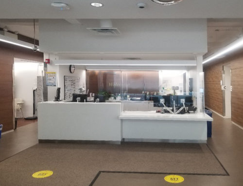Local Health Care Facility – Plexiglass Barrier