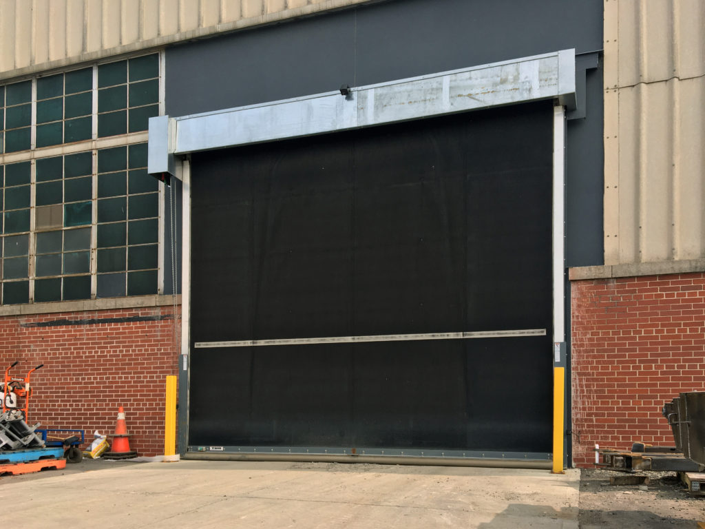Rubber Door & Air Barrier for Manufacturing Plant